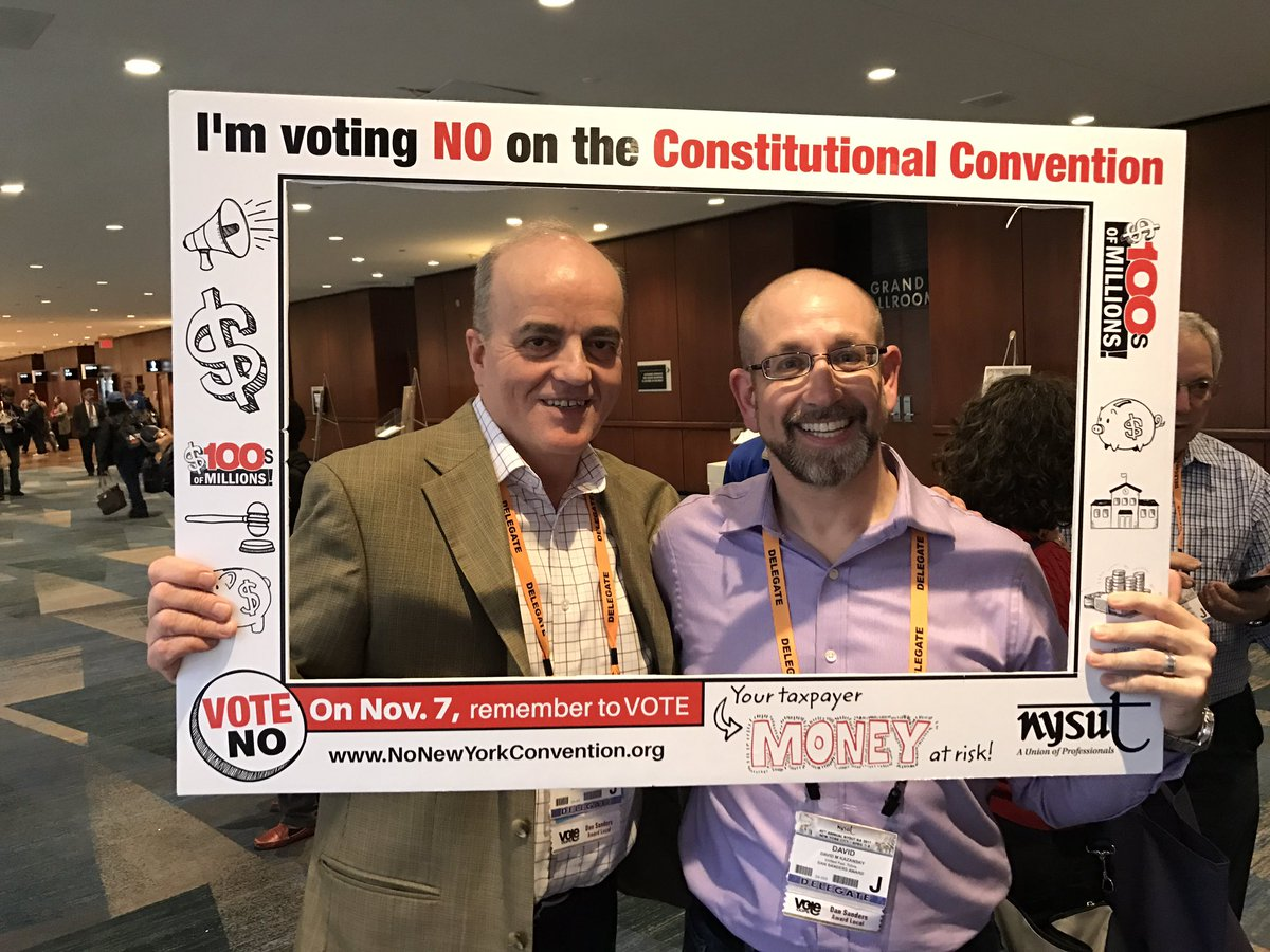 I'm voting NO on the Constitutional Convention, NYSUT, 2017-04-07