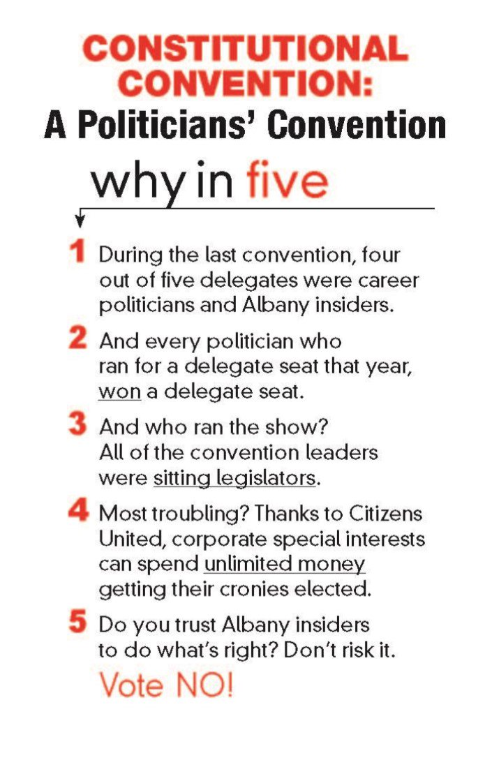 Constitutional Convention: A Politicians' Convention, NoNewYorkConvention.org, 4th Ad, 2017-04-12